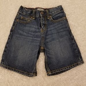 OSHKOSH TODDLER BOYS BLUE JEAN SHORTS SIZE 4